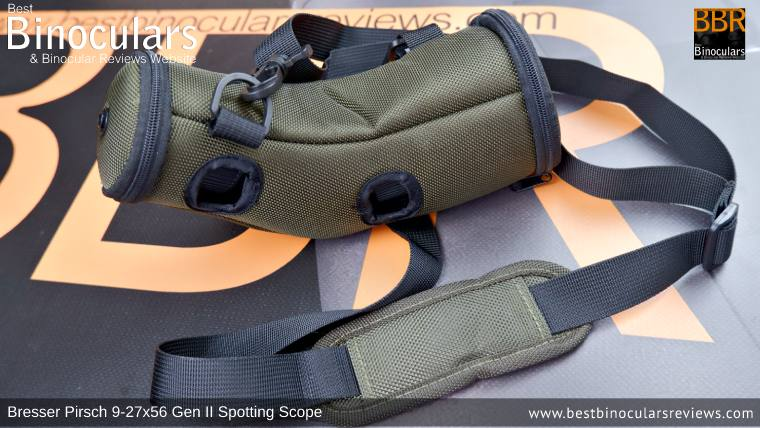 Lens and Body Cover for the Bresser Pirsch 9-27x56 Gen II Spotting Scope