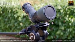 Objective Lens covers on the Bresser Pirsch 9-27x56 Gen II Spotting Scope