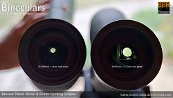 Exit Pupil Sizes on Bresser Pirsch 80mm and 56mm Spotting Scopes