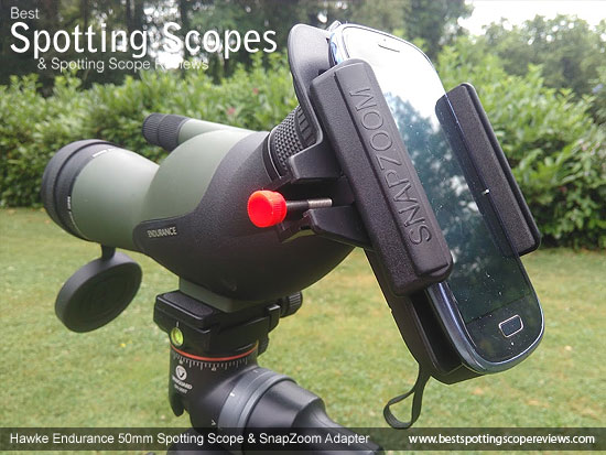 Digiscoping with the Hawke Endurance 12-36x50 Spotting Scope and SnapZoom Adapter