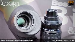 Removable 15-45x Zoom Eyepiece on the Hawke Endurance ED 15-45x60 Spotting Scope