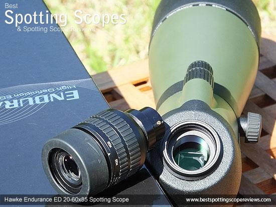 Screw mount on the 20x-60 zoom Eyepiece