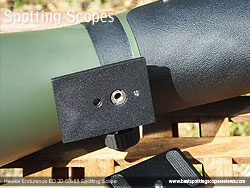 Mounting Plate & Collar on the Hawke Endurance ED 20-60x85 Spotting Scope