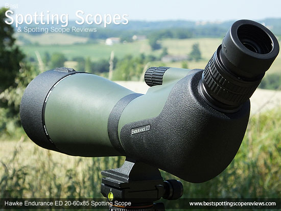 The Hawke Endurance ED 20-60x85 Spotting Scope