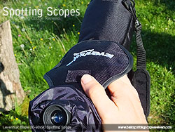 Focusing with the Levenhuk Stay on Spotting Scope Cover on