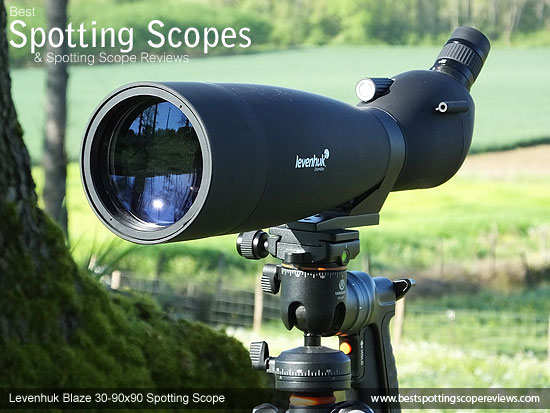 The Angled Levenhuk 30-90x90 Spotting Scope