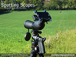 Digiscoping with the Opticron MM3 60 GA ED Travelscope and Snypex X-Wing Adapter