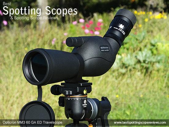 The Angled Opticron MM3 60 GA ED Travelscope