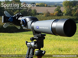 Digiscoping with the Snypex Knight T80 and the Snypex X-Wing Adapter