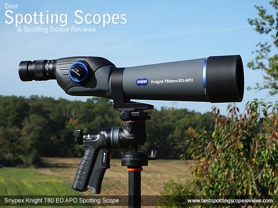 The Straignt through Snypex Knight T80mm ED APO Spotting Scope