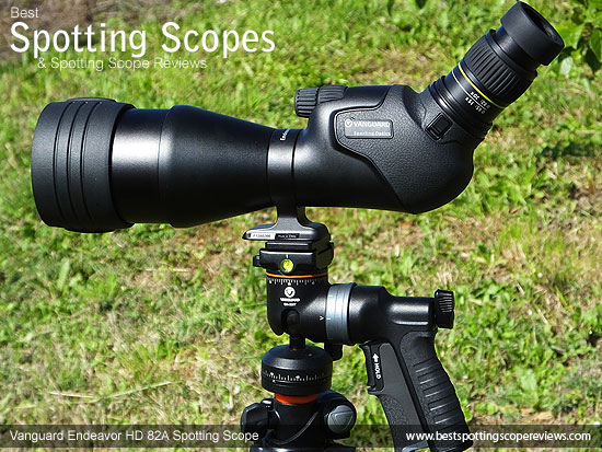 The Vanguard Endeavor HD 82A Spotting Scope