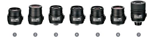 Nikon FEP-25LER 20x//25x Fieldscope Spotting Scope Eyepiece