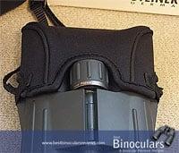The Rain Guard on the Steiner 10x42 SkyHawk Pro Binoculars
