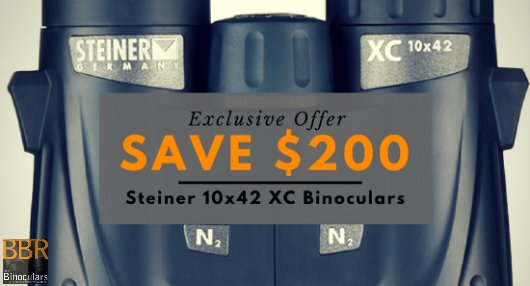 Save $200 on Steiner XC 10x42 Binoculars