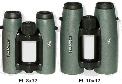 Swarovski EL Binoculars - Size Comparison
