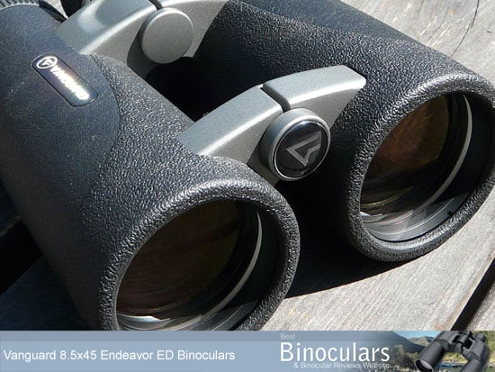 45mm lenses on the Vanguard Endeavor ED 8.5x45 Binoculars