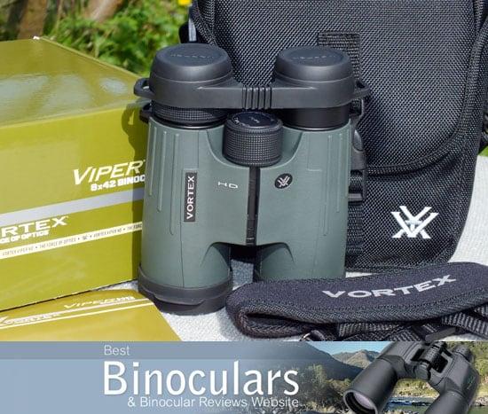 Vortex 8x42 Viper HD Binoculars