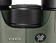 Focussing Wheel on the Vortex Viper HD Binoculars