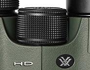 Focussing Wheel on the Vortex Viper HD Binoculars